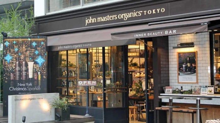ジョンマスターオーガニック 店舗